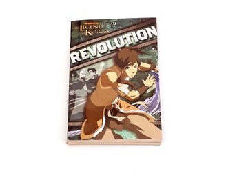 The legend of Korra 1: Revolution (bok, engelska)