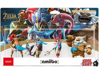 Nintendo amiibo Legend of Zelda Breath of the Wild Collection (Champions Pack)