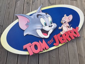 Reklamskylt Tom & Jerry