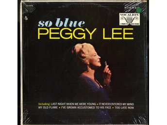 PEGGY LEE - SO BLUE - STILL SEALED