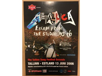Poster Metallica Escape from the Studio 2006