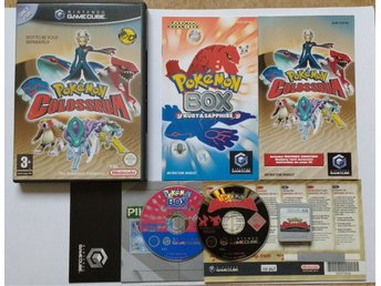 1KR! TOPPSKICK Pokemon Colosseum + Pokemon BOX + MC59 till Nintendo GameCube