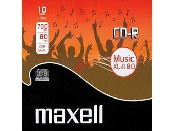 CD-R 80 Maxell XL-II Insp. CD-R (Musik) 10-pack