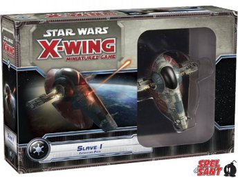 Star Wars X-Wing Miniatures Game Slave 1 Expansion - Norrtälje - Star Wars X-Wing Miniatures Game Slave 1 Expansion - Norrtälje