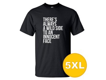 T-shirt WildSide Svart herr tshirt 5XL