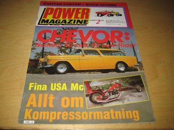 POWER NR 2 1980    NOMAD -55,BUICK -58,M.M