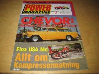 POWER NR 2 1980 NOMAD -55,BUICK -58,M.M - Uppsala - POWER NR 2 1980 NOMAD -55,BUICK -58,M.M - Uppsala