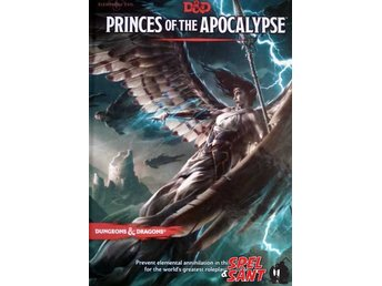 Dungeons & Dragons Princes of the Apocalypse 5th Edition (Inbunden)