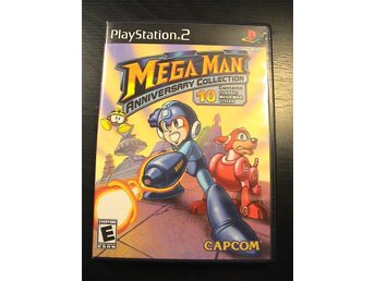 MEGAMAN ANNIVERSARY COLLECTION (Tio spel !!) / PS2 PLAYSTATION 2 / USA-Import