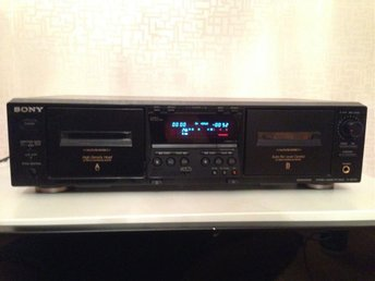 Sony stereo cassette deck tc-we475