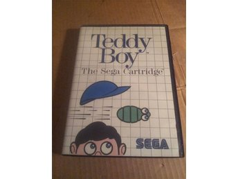 Teddy boy sega mastersystem i box med manual