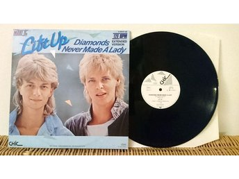 Lift Up - Diamonds Never Made A Lady - 12'' vinyl VG++ Modern Talking