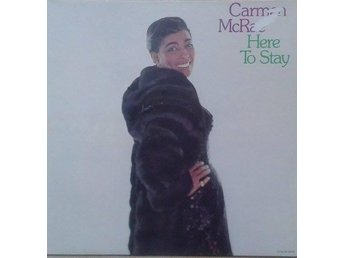 Carmen McRae title* Here To Stay* Jazz, Pop US LP - Hägersten - Carmen McRae title* Here To Stay* Jazz, Pop US LP - Hägersten