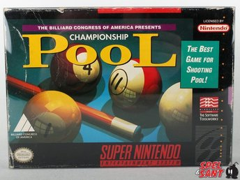 Championship Pool (inkl. Skyddsbox & Amerikanskt Version)