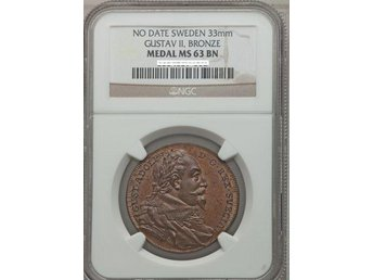 Gustav II Adolf NGC MS 63 !