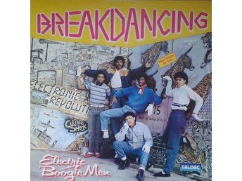 Electric Boogiemen  titel*  Breakdancing* Synth-pop, Disco 12""