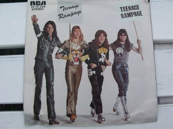 "THE  SWEET  -  TEENAGE  RAMPAGE    RCA  7""   1974"