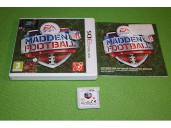 Madden Football Komplett Nintendo 3DS