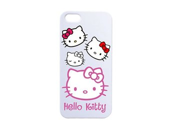 Hello Kitty Face / Hello Kitty ansikte iPhone 5C skal