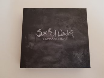 Six Feet Under - Commandment Deathmetal Ltd Box med Flagga - älvängen - Six Feet Under - Commandment Deathmetal Ltd Box med Flagga - älvängen