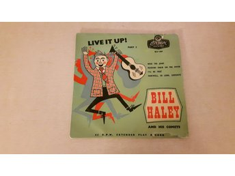 Bill Haley And His Comets - Live It Up ! Part 2 (Endast Omslag)