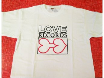 Love Records T-shirt Size L