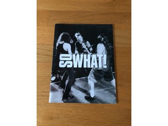 Metallica So What! Metallica club officiel tidning Big Four Trash