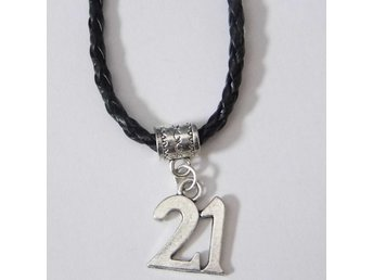 21 födelsedag halsband / 21st birthday necklace