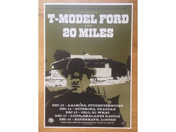 Poster T-Model Ford and 20 Miles
