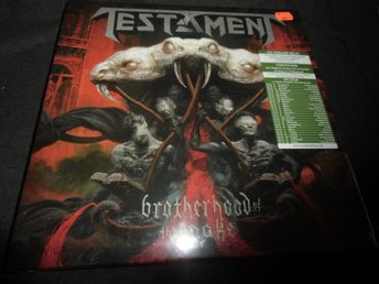 Testament - Brotherhood of the snake - 2LP+1CD Box-2016 - Ny