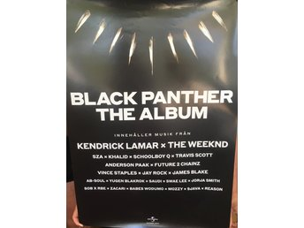 Poster Black Panther The Album Kendrick Lamar The Weekend