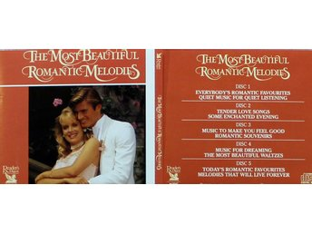 The Most Beautiful Romantic Melodies, Div artister (5CD)