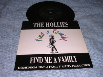 Hollies - Find Me a Family (si) UK 89 EX/EX