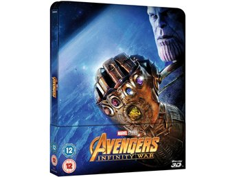 Avengers: Infinity War 3D (+ 2D Version) - Limited Edition Steelbook
