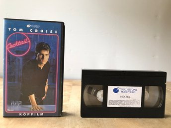 Cocktail - Tom Cruise - VHS