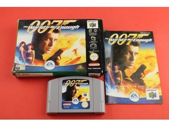 007 THE WORLD IS NOT ENOUGH till Nintendo 64 N64
