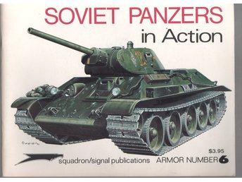 Soviet Panzers in Action - Squadron Signal Publication
