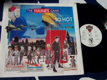 "HAINES GANG THE - SO HOT 12"" 1983"