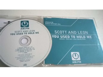 Scott And Leon - You Used To Hold Me, CD, Single, Enhanced