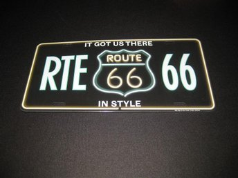 SUPERCOOL:: LICENSPLATE RTE 66--ROUTE 66 IN STYLE - Göteborg - SUPERCOOL:: LICENSPLATE RTE 66--ROUTE 66 IN STYLE - Göteborg