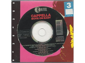 CAPPELLA - MOVE ON BABE    (CD MAXI/SINGLE )
