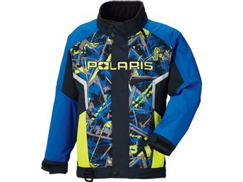 Polaris Jacka Youth Blue/Lime 110 (REA 40%)