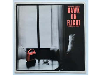 MATZ NILSSON & HAWK ON FLIGHT Talk Of The Town LP SWE 1985