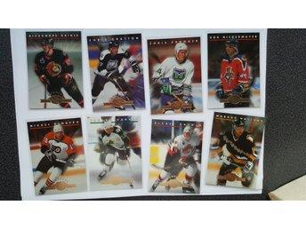 Hockeybilder 1993-94 Donruss Rated Rookies komplett sett 1-15 - Fritsla - Hockeybilder 1993-94 Donruss Rated Rookies komplett sett 1-15 - Fritsla