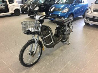 Elmoped  (Välutrustad & Praktisk)