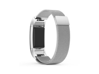 Fitbit Charge 2 rostfrittstål klockarmband - Silver