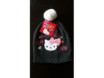Hello Kitty mössa Svart F053