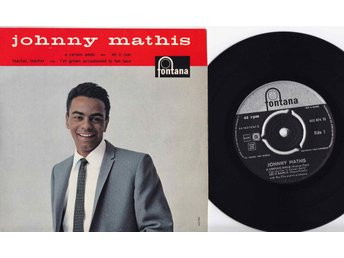 JOHNNY MATHIS - A CERTAIN SMILE - EP 1958