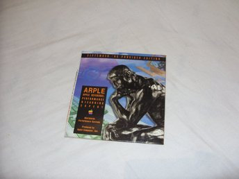 ARPLE September 1995 Provider Edition Apple CD ROM sales, adverts, multimedia
