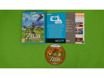 The Legend of Zelda Breath of the Wild Nintendo WiiU wii u
